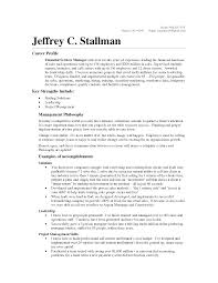 resume of manager operations awesome collection of financial project manager resume sample