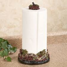 themed paper towel holder live laugh grapes paper towel holder