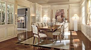 elegant italian toulipier dining room in chicago martini mobili