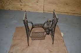 Antique Singer Sewing Machine Table Need Help With Painting Prep Of An Antique Singer Treadle Sewing