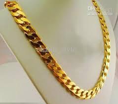 golden necklace men images 2018 10 off 2015 new hot sale men 39 s gold wedding necklace fashion jpg