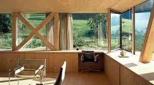 bureau ossature bois maison moderne à ossature bois