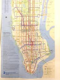 Mta Bus Routes Map by Manhattan Bus Route Map