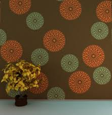 Floral Wall Stencils For Bedrooms 94 Best Wall Stencils Images On Pinterest Wall Stenciling