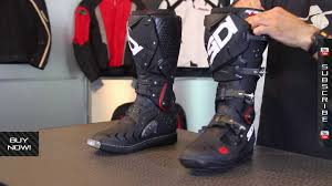 fox f3 motocross boots sidi crossfire 2 boots from motorcycle superstore com youtube