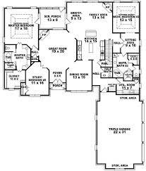 custom ranch floor plans custom ranch house floor plans 4 bedroom with 3 bathrooms ground 6