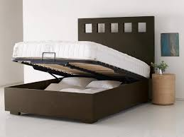 King Bed Frame With Drawers Tidy King Bed With Storage Underneath Modern King Beds Design