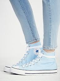 Converse High Heels Best 25 Blue Converse Ideas On Pinterest Light Blue Converse