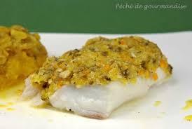cuisiner un dos de cabillaud dos de cabillaud en croûte d amandes et pistaches compotée de