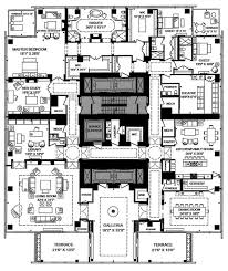 One Canada Square Floor Plan Four Seasons Hotel And Private Residences Toronto Amenities Plan