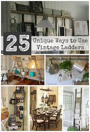 best 25 ladder decor ideas on ladders decorating