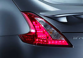 nissan 370z tail lights nissan 370z tail light exterior picture carkhabri com