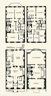 best floor plans elevations images on pinterest mansion townhouse