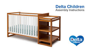 delta convertible crib instructions delta children gramercy u0026 urban 4 in 1 crib u0027n u0027 changer assembly