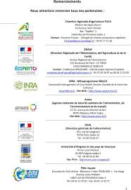 chambre r馮ionale d agriculture paca programme and abstract book avignon 21 22 octobre pdf