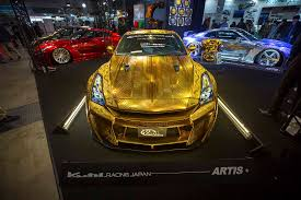 This Embossed Gold Nissan Gt R Is All Sorts Of Crazy Autoguide