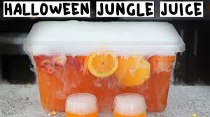 the ultimate halloween jungle juice tipsy bartender youtube