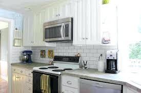 backsplash ideas for white cabinets white subway tile backsplash ideas alluring kitchen white cabinets