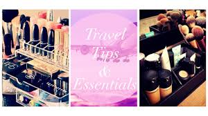 traveling makeup artist how to pack your makeup other beauty essentials seamless