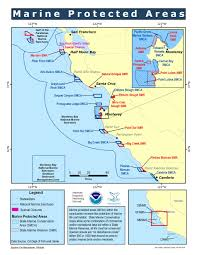 Point Lobos State Reserve Map by Mbnms Marine Protected Areas Simon