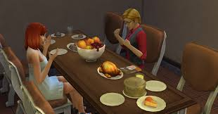 penelope thanksgiving for the love of tv a sims 4 legacy thanksgiving special