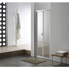 900mm Shower Door Vogue Alcove Shower Door Bi Fold Framed 900mm No Tray Liner