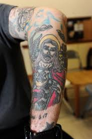 jesus tattoo changed my life worcester news