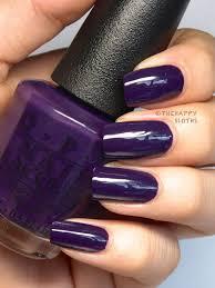 color rich grape purple cream opi coca cola nail polish review