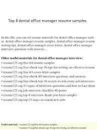 office manager resume dental office manager resume duties templates 4 inssite