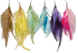 feather earrings women wear fashion feather earrings adworks pk adworks pk