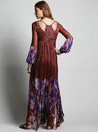 free people womens dazed dream maxi dress in red lyst