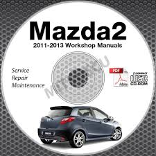 2011 2013 mazda2 service manual repair cd rom 2012 workshop