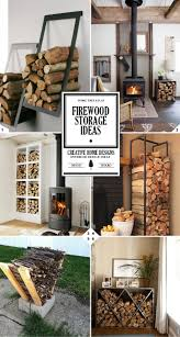 Storage Home A Crackling Fire Indoor Firewood Storage Ideas Firewood Storage