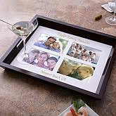 personalized photo serving tray personalized wood photo insert serving tray customer reviews