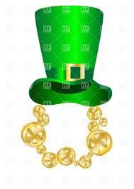 st patrick u0027s day hat vector clipart image 25740 u2013 rfclipart