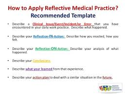reflective medical practice