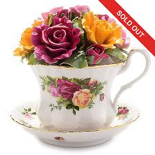 royal albert country roses 5 musical bone china decorative