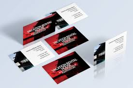 rent my home business cards business card templates creative