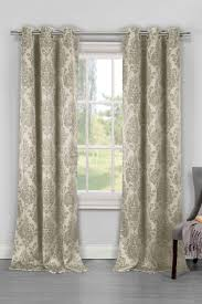 phelan heavy blackout grommet panel curtains set of 2 taupe by