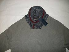 mens shawl collar sweater ebay