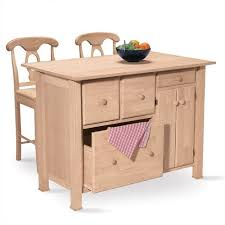 unfinished wood kitchen island unfinished furniture kitchen island 8230