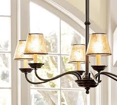 chandelier shades pb basic mica chandelier shades pottery barn