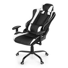 Desk Chair White by White Ikayaa Ergonomic Racing Gaming Office Computer Desk Chair