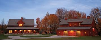 house and barn dream acreages pre designed post beam wood barn home kits