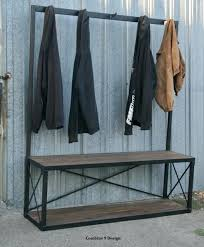 Entryway Bench With Coat Rack And Storage Coat Rack And Bench U2013 Amarillobrewing Co