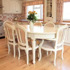 Inspiring Cream Painted Dining Table And Chairs  On Best Dining - Cream kitchen table