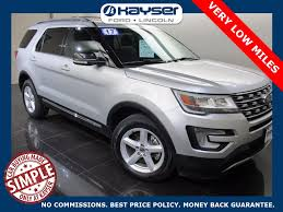 Ford Explorer Trunk Space - new ford explorer lease deals u0026 finance offers madison wi