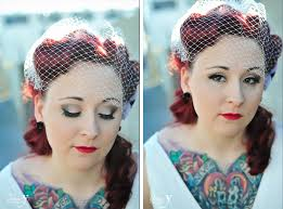 Las Vegas Bridal Makeup Tattooed Bride U0026 Groom Casey U0026 Justin Las Vegas Destination