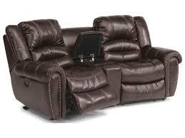 flexsteel sectional sofa flexsteel crosstown three power reclining sectional sofa with