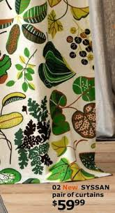 Leaf Curtains Ikea Image Result For Syssan Curtains Ikea Living Room Pinterest